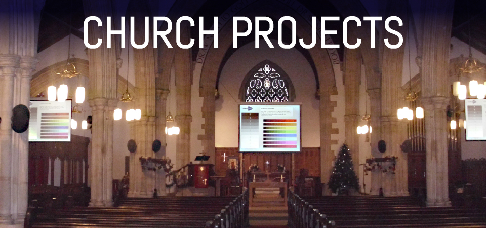APi Communications church audio visual installation systems