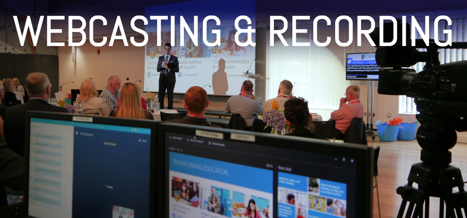 APi Communications webcasting and recording installation