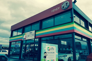 Hendy Car Showroom, Exeter