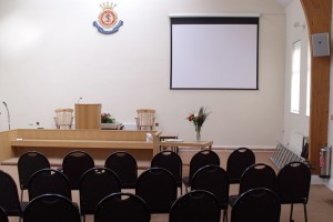 Salvation Army Penzance large screen projector installation