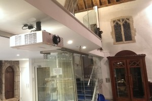 St michaels Alphington Church AV install