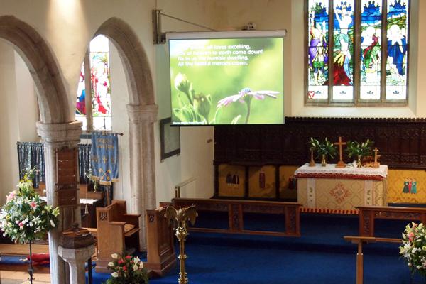 APi Communication Church Sector Audio Visual Installation