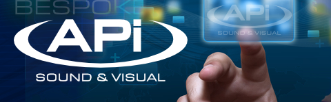 APi Sound & Visual audio visual solutions website header