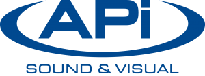 APi Sound & Visual Logo Blue