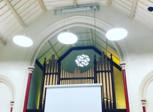 New Installation for Methodists in London