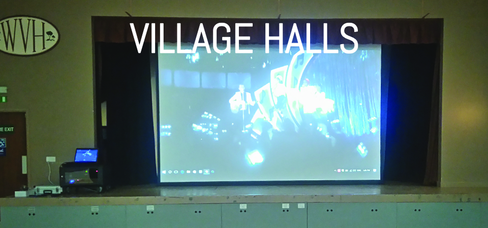 Village Hall Projection APi Sound & Visual Devon