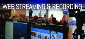 Web Streaming & Recording APi Sound & Visual Devon