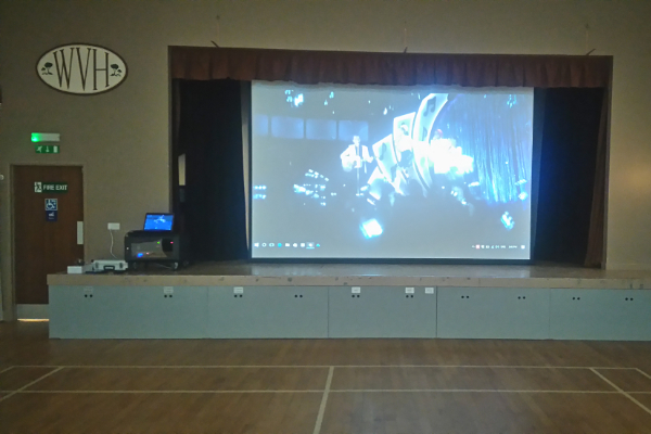 Woodbury Village Hall Client of APi Sound & Visual